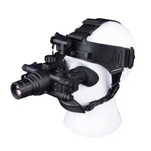 ORPHA奥尔法双目单筒头盔头戴式微光夜视仪ONV3+ 准3代可连接战术头盔可手持单倍观察可夜间驾驶行路看地图巡逻军事演习防盗火灾救援夜间搜救/可换增倍镜/视频输出