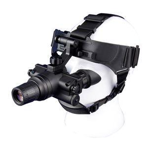 ORPHA奥尔法双目单筒头盔头戴式微光夜视仪ONV2 2代+ 可连接战术头盔可手持单倍观察可夜间驾驶行路看地图巡逻演习防盗火灾救援夜间搜救/可换增倍镜
