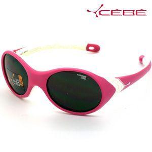 法国Cebe太阳镜 儿童太阳镜 Kanga系列 CB198300131 玫红&白色  1-4岁