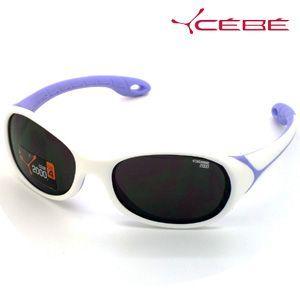 法国Cebe太阳镜 儿童太阳镜 Flipper系列 CBFLIP4 白&薰衣草色款 3-6岁
