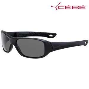 法国Cebe太阳镜 儿童偏光太阳镜 SPicy系列 CBSPICYZ1 亚光黑色款 7-10岁